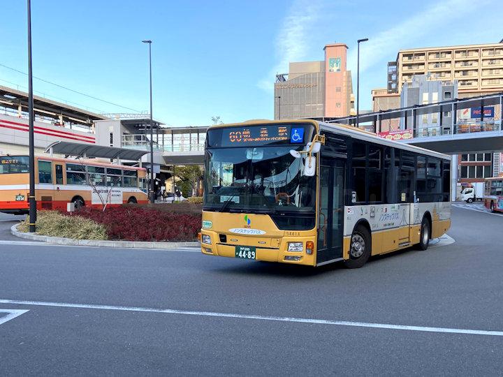 山陽バスの明石駅発着(60・67系統)が休止