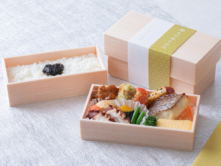 「象印銀白弁当」のコラボ弁当第1弾は『明石海の幸弁当』(新大阪駅Sotoe)