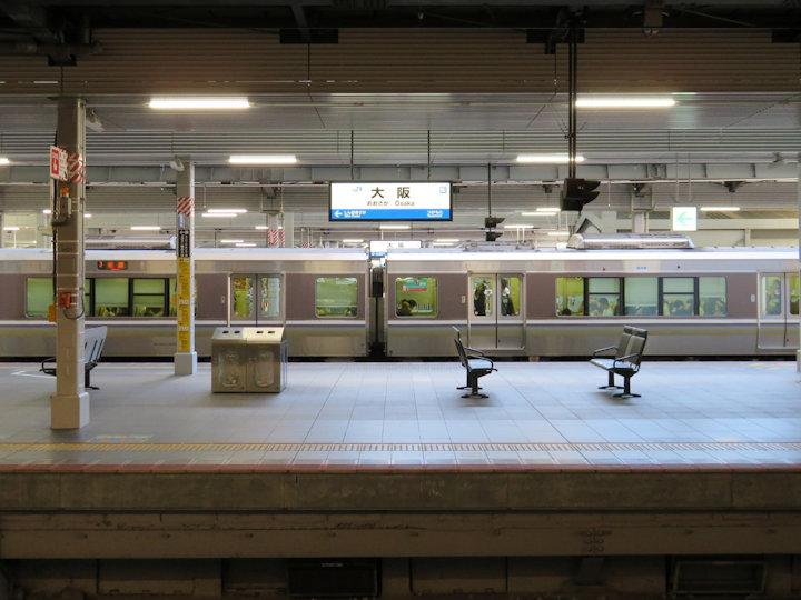 大阪駅の終電