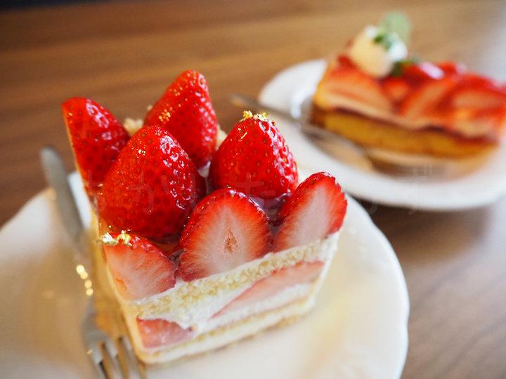 幻の明石清水いちごのショートケーキ&タルトを買ってきた!(くるみや ピオレ明石店)