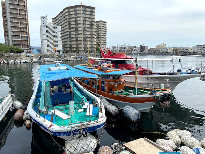 海蓮丸の船着き場のほぼ真ん前
