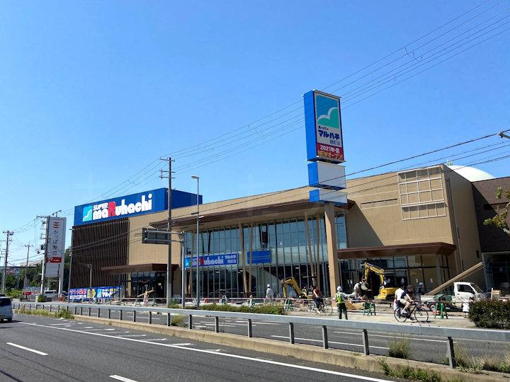 和坂交差点近くにオープンの「スーパーマルハチ硯町店」の様子を見てきた(コメリ明石跡地)