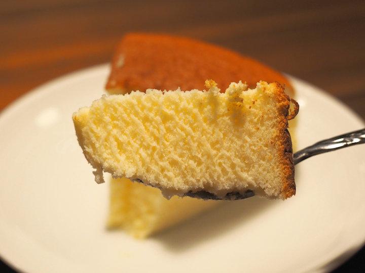 チーズケーキをいただきます