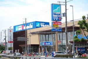 本日オープンしたスーパーマルハチ硯町店に買い物に行ってきました!スギ薬局は22日開店