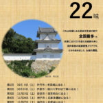 兵庫県立図書館で連続講座「ひょうご五国の城に迫る!~摂津編~」(全5回)