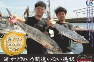 旬を迎える明石の新ブランド魚「浦サワラ」を提供するフェアが開催されます(明石浦漁協)