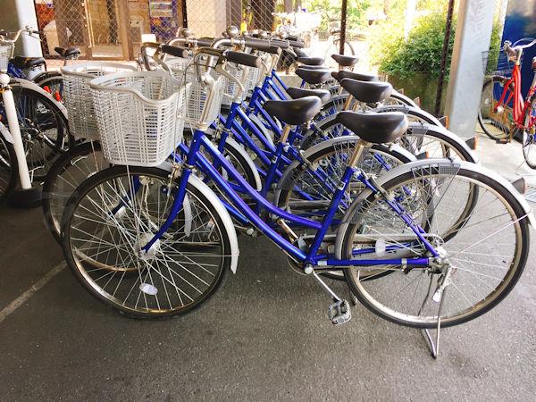 駅リンくんの自転車