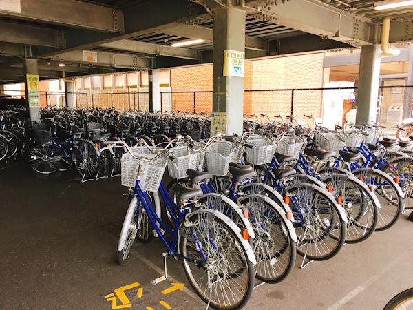 自転車の返却場所