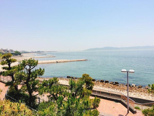 江井島海岸の眺望