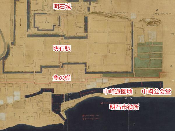 明石の古地図