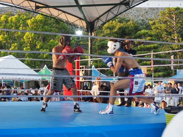 ボクシングエキシビジョン