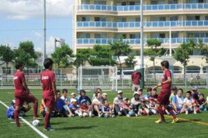 ヴィッセル神戸親子サッカー教室@明石