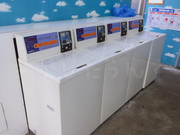 コイン式縦型洗濯機