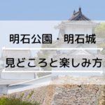 明石公園(明石城)の見どころ・楽しみ方完全ガイド
