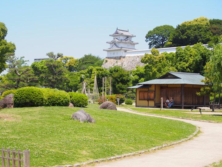 武蔵の庭園