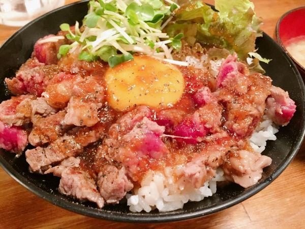 アメリカンステーキ丼