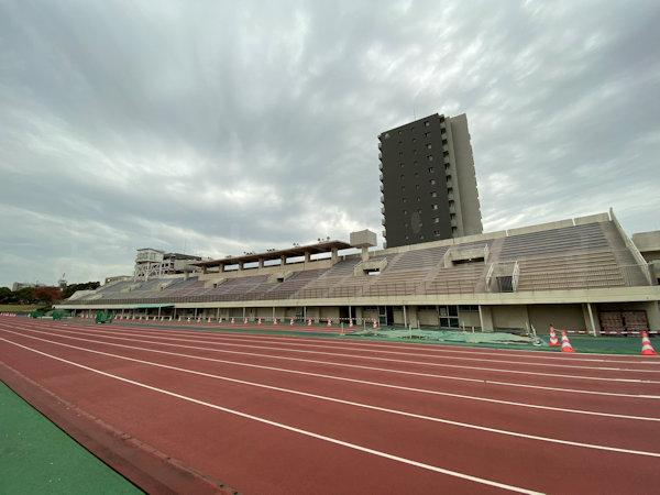 第3会場の陸上競技場