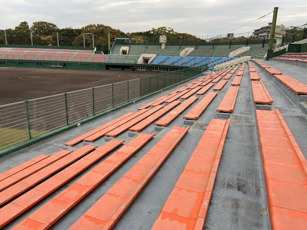 明石トーカロ球場の応援席