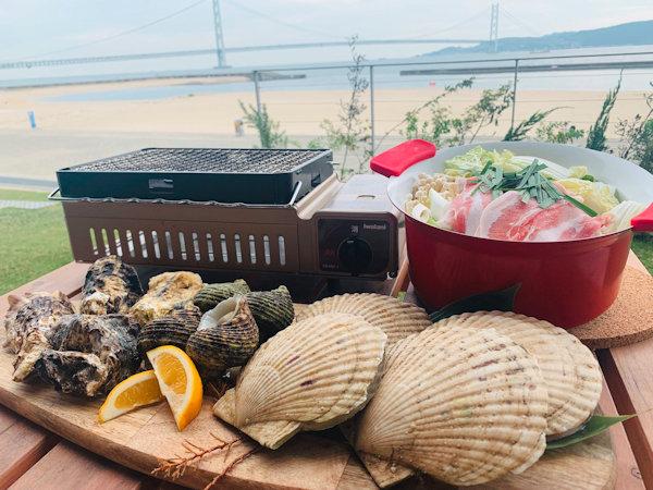 浜焼き+お鍋プラン