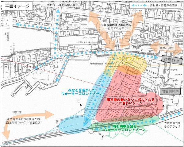 明石港東外港地区再開発計画