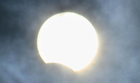 部分日食 観望会