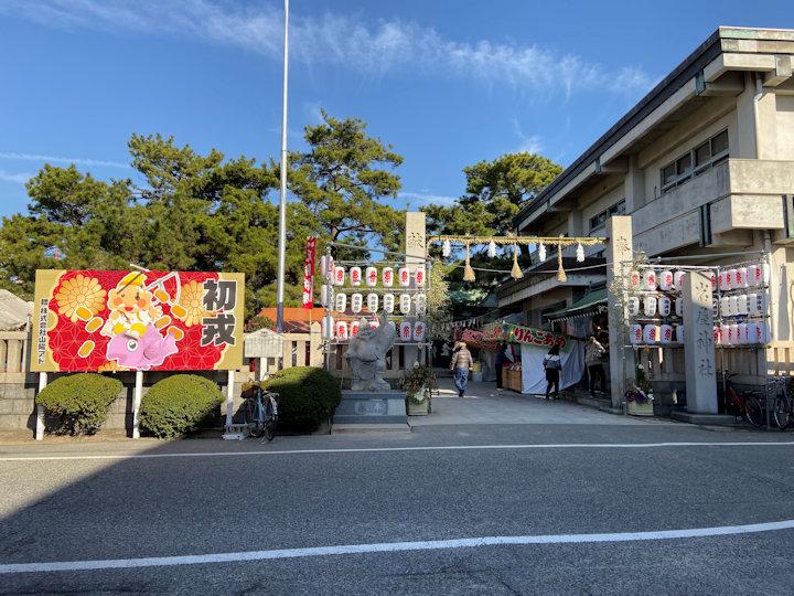 岩屋神社の入り口