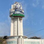 明石天文科学館の塔時計の修繕実施