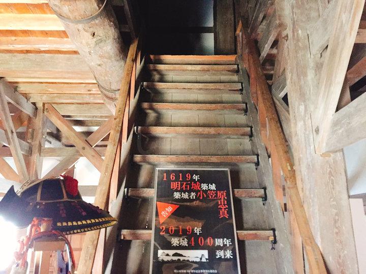 櫓の2階部分