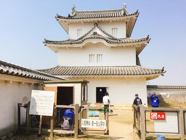 坤櫓の入り口