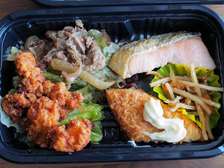 紅鮭ミックスフライ弁当