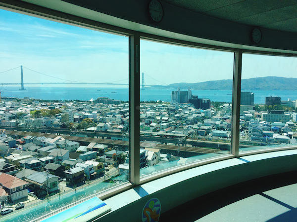 展望室からの眺望