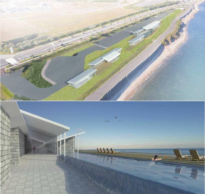 明石海峡公園に温泉・プール・レストランなど大型複合施設ができる計画