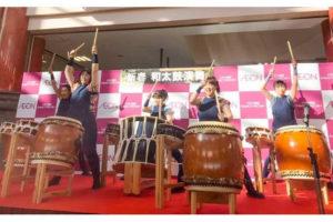 元日はイオン明石で大迫力の和太鼓演奏を聞こう!