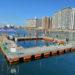 海上釣り堀が明石港東の砂利揚げ場跡地にオープンするようです